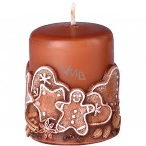 Emocio Perník Gingerbread vonná svíčka válec 50 x 60 mm