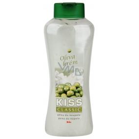 Mika Kiss Classic Oliva krém pěna do koupele 1 l