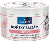 Alpa Koňský hřejivý masážní balzám 250 ml