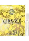 Versace Yellow Diamond toaletní voda pro ženy 1,5 ml s rozprašovačem, vialka