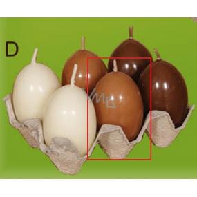 Lima Vajíčko s vůní svíčka světle hnědá 40 x 60 mm 1 kus