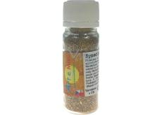 Art e Miss Sypací glitr pro dekorativní použití Hnědo-zlatý 14 ml
