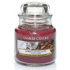 Yankee Candle Moroccan Argan Oil - Marocký arganový olej vonná svíčka Classic malá sklo 104 g