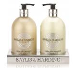 Baylis & Harding Jojoba, Hedvábí a Mandlový olej tekuté mýdlo + mléko na ruce 2 x 500 ml