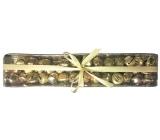 Rolničky zlaté v krabičce 1,5 cm, 39 kusů
