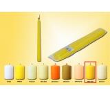 Lima Svíčka tmavě žlutá kužel 22 x 250 mm 2 kusy