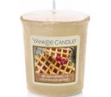 Yankee Candle Belgian Waffles - Belgické vafle vonná svíčka votivní 49 g