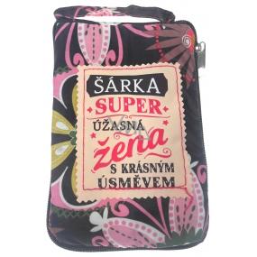 Albi Skládací taška na zip do kabelky se jménem Šárka 42 x 41 x 11 cm