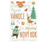 Nekupto Přání k Vánocům Veselé Vánoce a šťastný Nový rok 3380 R