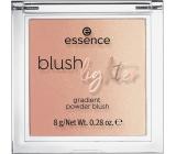 Essence Blush Lighter tvářenka a rozjasňovač 02 Coral Sunset 8 g