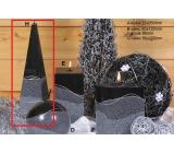 Lima Artic svíčka černá jehlan 75 x 250 mm 1 kus