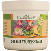 Krauterhof z Čertových drápů tělový gel udržuje v kondici pleť při dlouhodobém upoutání na lůžku 250 ml