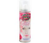 Glitter Glitry lak na vlasy a tělo stříbrný 125 ml sprej