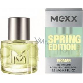 Mexx Spring Edition 2012 Woman toaletní voda 20 ml
