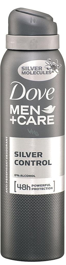 Dove Men + Care Silver Control 48h antiperspirant deodorant sprej pro muže 150 ml