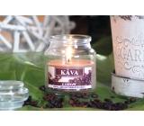 Lima Aroma Dreams Káva aromatická svíčka sklenička s víčkem 300 g