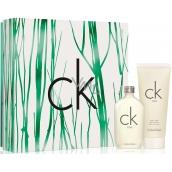 Calvin Klein CK One toaletní voda unisex 50 ml + sprchový gel 100 ml, dárková sada