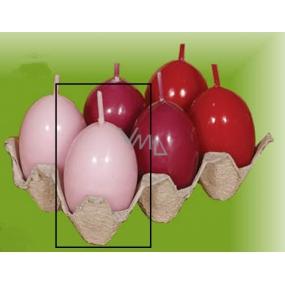 Lima Vajíčko s vůní svíčka růžová 40 x 60 mm 1 kus