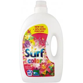 Surf Color Tropical Lily & Ylang Ylang gel na praní barevného prádla 60 dávek 3 l
