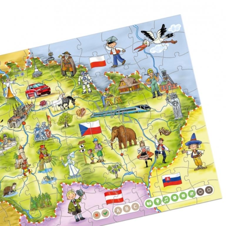 d8259e8f1 Albi Kouzelné čtení interaktivní mluvící puzzle Česká republika - VMD  drogerie