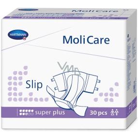MoliCare Slip Super Plus M 90-120 cm zalepovací plenkové kalhotky pro těžký stupeň inkontinence 30 kusů