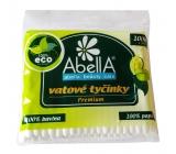 Abella Premium vatové tyčinky sáček 100 kusů