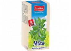 Apotheke Máta peprná čaj podporuje trávení a přispívá k příjemné relaxaci 20 x 1,5 g