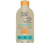 Garnier Ambre Solaire Eco Designed Protection SPF50 mléko na opalování 200 ml