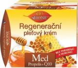 Bione Cosmetics Med a Q10 regenerační pleťový krém denní 51 ml