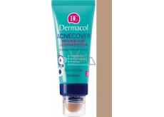 Dermacol Acnecover make-up & Corrector make-up a korektor 04 odstín 30 ml + 3 g
