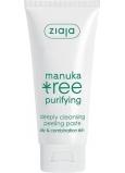 Ziaja Manuka Tree Purifying hloubkově čistící peelingová maska 75 ml