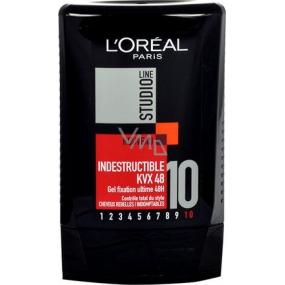Studio Line Indestructible KVX 48 tvarující a fixační gel na vlasy 300 ml