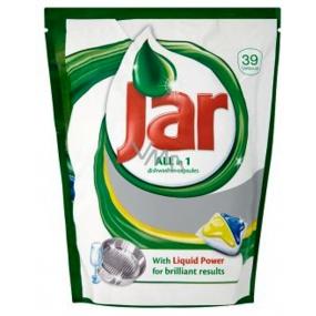 Jar All in 1 Yellow kapsle do automatické myčky nádobí 39 kusů