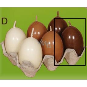 Lima Vajíčko s vůní svíčka hnědá 40 x 60 mm 1 kus