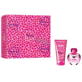 Moschino Pink Bouquet toaletní voda pro ženy 30 ml + tělové mléko 50 ml, dárková sada