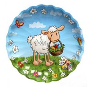 Ditipo Papírový talíř Velikonoční Ovečka 22 cm