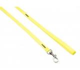 B&F Vodící popruh nylonový neon žlutý 1 x 120 cm