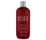 Baylis & Harding Černý pepř a Ženšen pěna do koupele pro muže 500 ml