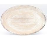 Nekupto Home Decor Dřevěný Talíř/Tác 28,5 cm