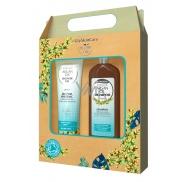 GlySkinCare Arganový olej šampon na vlasy 250 ml + sprchový gel 250 ml, pro zdravý a lesklý vzhled kosmetická sada
