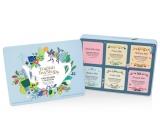 English Tea Shop Bio Wellness Pro krásu + Očisti mě + Pocit štěstí + Pro spánek + Tvaruj mě + Pro zklidnění, 36 kusů čajů, 6 příchutí, 54 g, dárková sada v plechové dóze