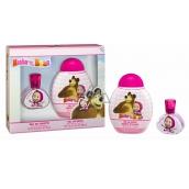Máša a Medvěd toaletní voda 30 ml + sprchový gel 300 ml pro děti dárková sada