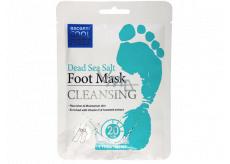 Escenti Cool Feet Sůl z Mrtvého moře čisticí maska na nohy 1 pár