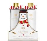 Grace Cole Toasted marshmallow & Snowdrops - Toastový marshmallow a sněženky sprchový gel 500 ml + tělové mléko 500 ml, dárková sada