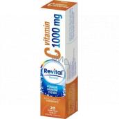 Revital Vitamin C Pomeranč doplněk stravy pro normální funkci imunitního systému 1000 mg 20 šumivých tablet
