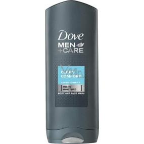Dove Men + Care Clean Comfort sprchový gel pro muže 250 ml