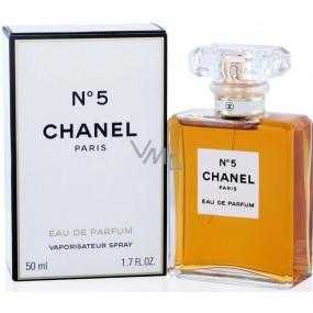 Chanel No.5 parfémovaná voda pro ženy 50 ml s rozprašovačem