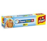 Fino Zipper Bags sáčky na zip 1 litr, 20 kusů