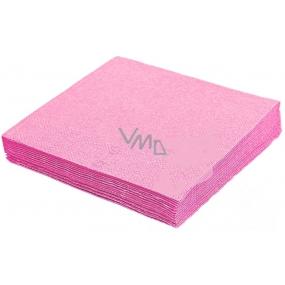 Gastro Papírové ubrousky barevné růžové 2 vrstvé 33 x 33 cm 50 kusů