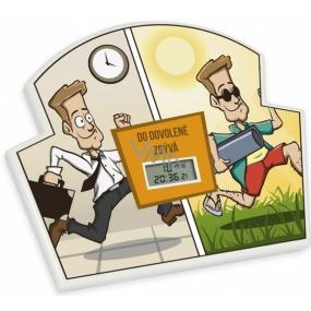 Albi Odpočítávač Do dovolené, Nejdelší doba pro odpočet je 365 dní, 23h, 59 minut a 59 vteřin, 17x14x1,5 cm